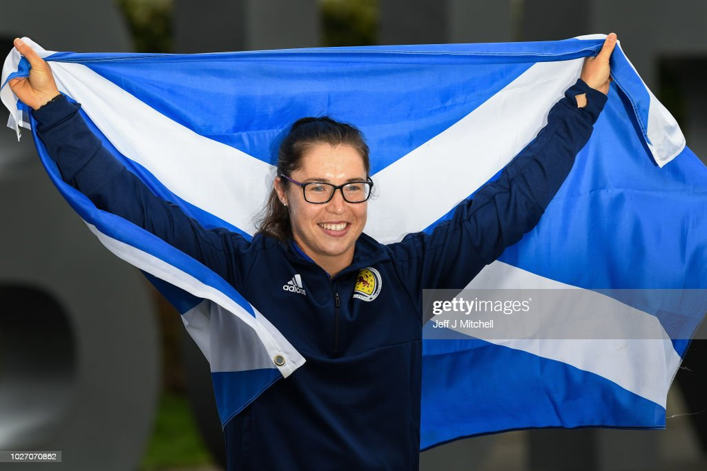 Scotland's Women's Football Team Qualify For The Next World Cup : News Photo