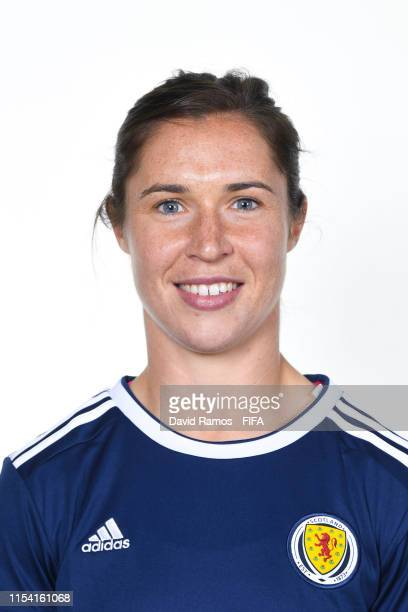 Jane Ross of Scotland poses for a portrait during the official FIFA Women's World Cup 2019 portrait session at AC Hotel by Marriott Nice on June 06...