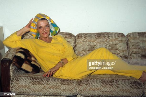 Jane Rusell poses for a portrait in c.1990 in Los Angeles, California.