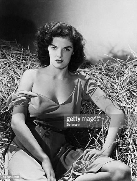 Jane Russell 19 year old discovered by Howard Hughes in 1940 for her appearance in The Outlaw As the result of publicity Jane was world famous before...