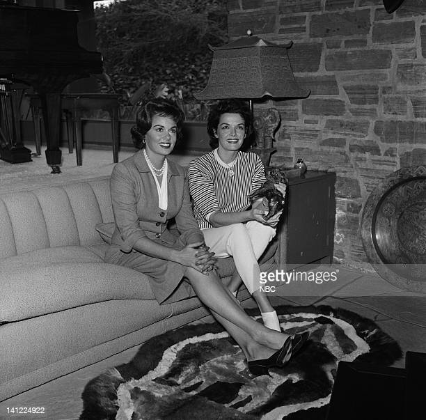S HOLLYWOOD Jane Russell Air Date Pictured Host Joanne Jordon actress Jane Russell Photo by Frank Carroll/NBCU Photo Bank