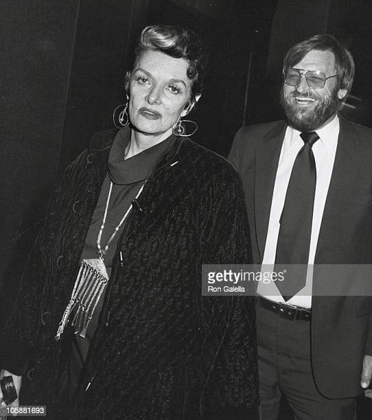 Jane Russell and John Calvin Peoples during Jane Russell Sighted at Hemsley Palace Hotel February 13 1982 at Hemsley Palace Hotel in New York City...