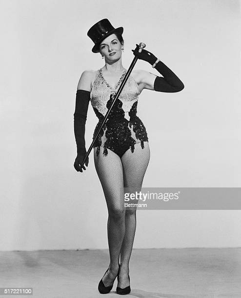 Jane Russell appearing in the show Gentleman Prefer Blondes