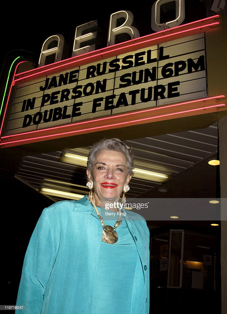 Jane Russell Appearance at American Cinematheque Screenings at the Aero Theatre