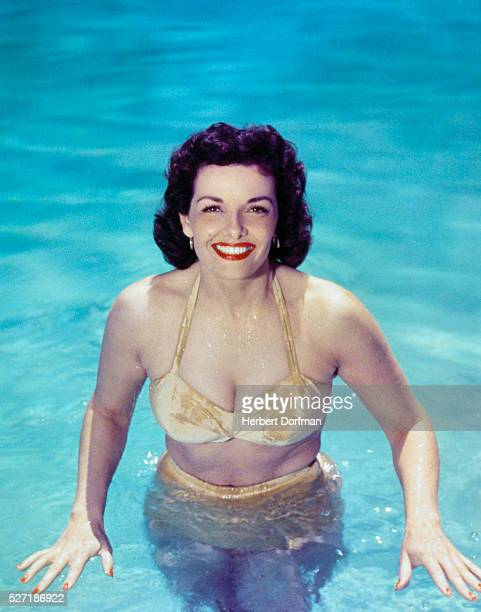 Jane Russell Wearing a Bikini