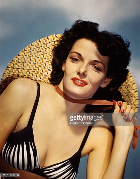 Jane Russell Wearing a Bikini Top