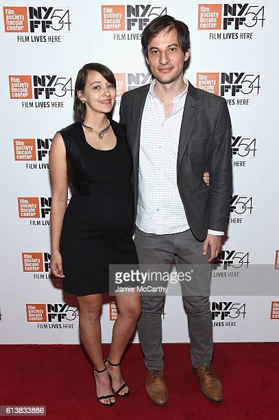 Jane Samborski and Dash Shaw attends the 54th New York Film Festival 'My Entire High School' Premiere on October 10 2016 in New York City