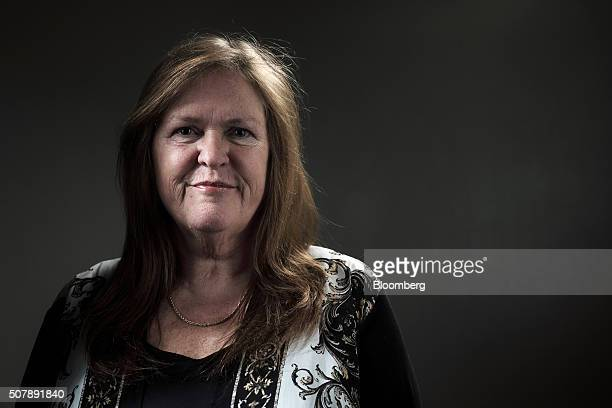 Jane Sanders wife of Vermont Senator and 2016 Democratic presidential candidate Bernie Sanders stands for a photograph following a campaign event and...