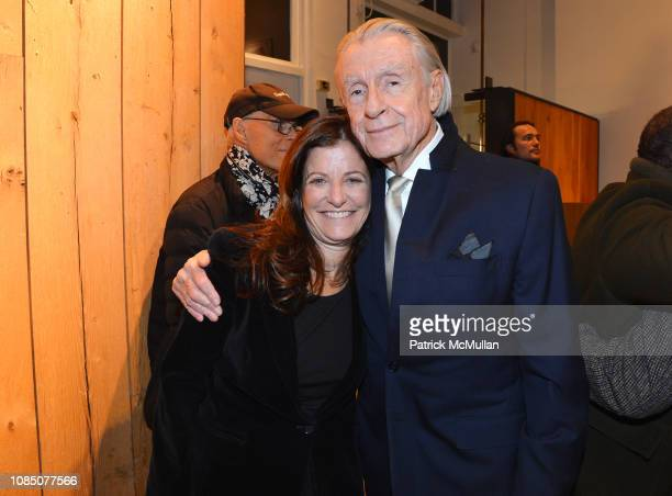 Jane Sarkin and Joel Schumacher attend Bruce Weber's Release Of His New Book AllAmerican XVIII on December 11 2018 in New York City