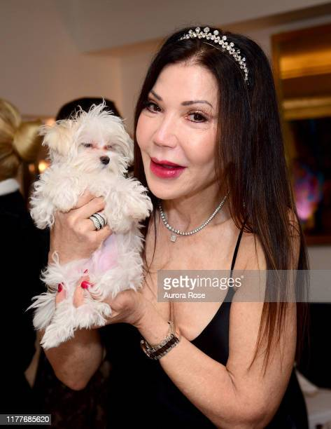 Jane Scher attends her birthday party at Le Bilboquet on October 22 2019 in New York City