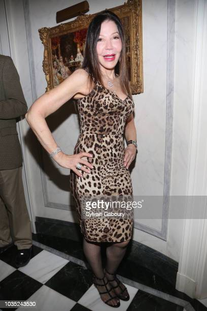 Jane Scher attends Jean Shafiroff Hosts Cocktails For New York Women's Foundation at Private Residence on September 17 2018 in New York City