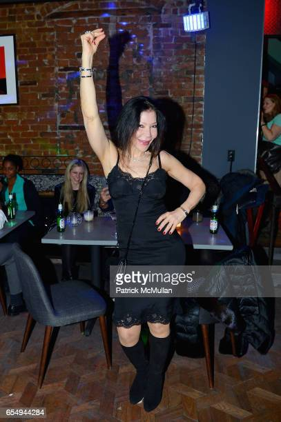 Jane Scher attends Patrick McMullan's Annual St Patrick's Day Party at 49 West 20th Street on March 17 2017 in New York City
