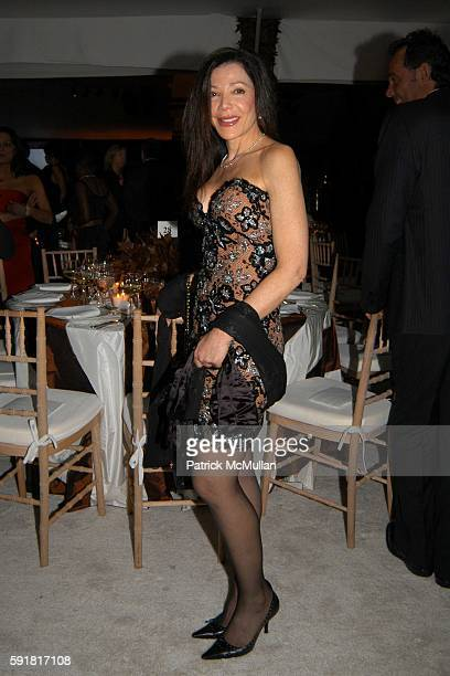 Jane Scher attends The Guggenheim International Gala at Seagram Plaza on November 7 2005 in New York City