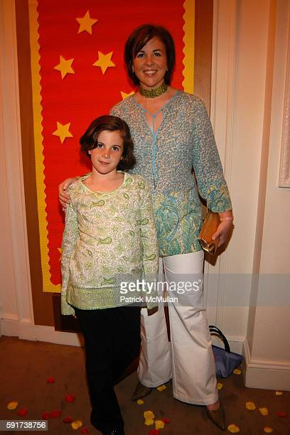 Jane Scott Hodges and Talley Hodges attend Madonna Childrens Book Lotsa de Casha published by Callaway Arts and Entertainment at Bergdorf Goodman on...