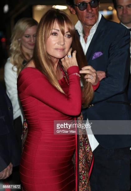 Jane Semour is seen on December 8 2017 in Los Angeles CA