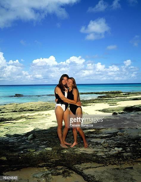 Jane Seymour and daughter Jennifer Flynn Jane Seymour Barbados Shoot Barbados