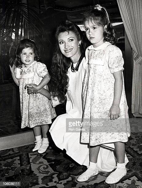 Jane Seymour and Daughter Katie and Stepdaughter Jennifer