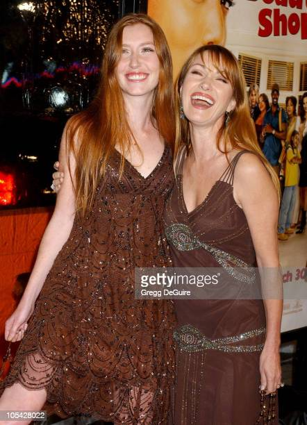 Jane Seymour and daughter Katie during Beauty Shop World Premiere Arrivals at Mann National Premiere in Westwood California United States