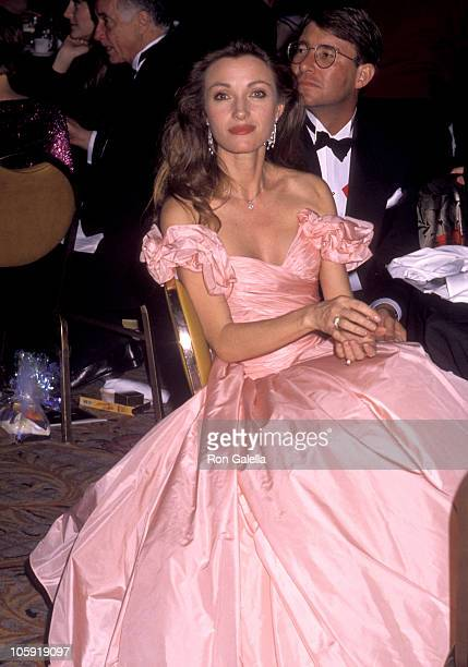 Jane Seymour and David Flynn during 5th Annual Moving Picture Ball Honoring Ron Howard at Century Plaza Hotel in Los Angeles, California, United...