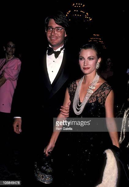 Jane Seymour and Husband David Flynn during Tribute Honoring Leonard Goldberg at Beverly Hilton Hotel in Beverly Hills, California, United States.