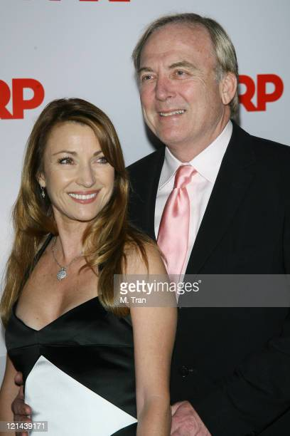Jane Seymour and James Keach during AARP The Magazine Toasts 2007 'Movies For Grownups Awards' Winners at Hotel BelAir in Los Angeles California...