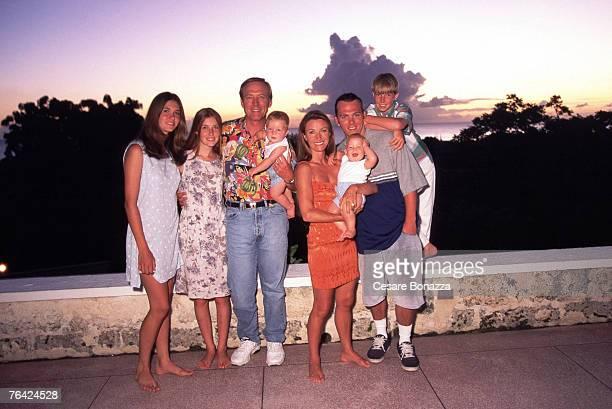 Jane Seymour and James Keach with Family Jennifer Flynn Katie Flynn John Keach Kristopher Keach Kalen Keach and Sean Keach Jane Seymour Barbados...