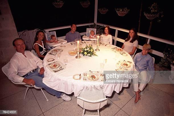 Jane Seymour and James Keach with family John Keach Kalen Keach Kristopher Keach Katie Flynn Jennifer Flynn and Sean Keach Jane Seymour Barbados...