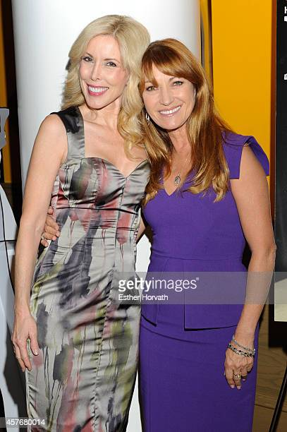 Jane Seymour and Kim Campbell attends the 'Glen CampbellI'll Be Me' New York Premiere at Crosby Street Hotel on October 22 2014 in New York City