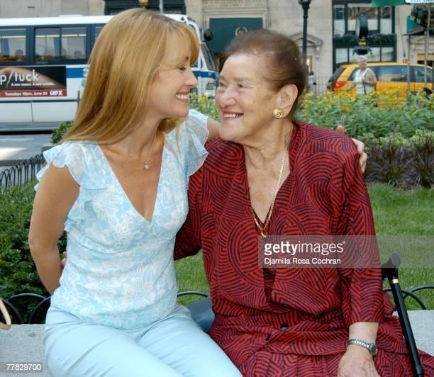 Jane Seymour and Mieke Frankenberg
