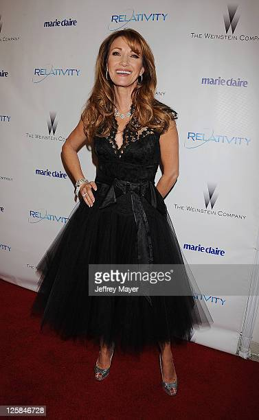 Jane Seymour arrives at The Weinstein Company and Relativity Media's 2011 Golden Globe After Party presented by Marie Claire held at Bar 210 at The...