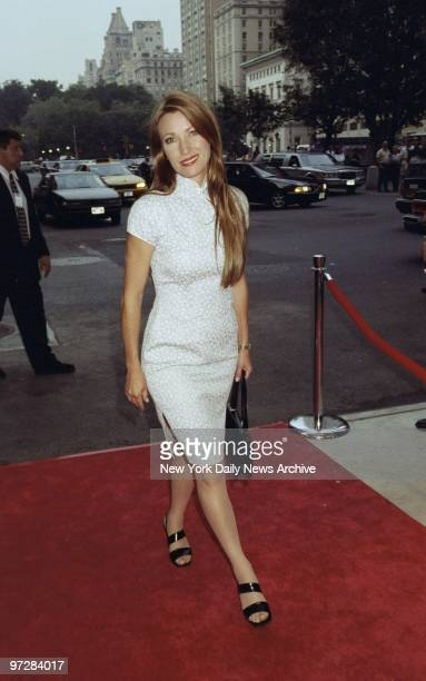 Jane Seymour arrives for the premiere of A Soldier's Daughter Never Cries at the Paris Theater