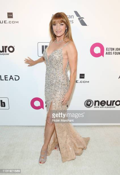 Jane Seymour attends 27th Annual Elton John AIDS Foundation Academy Awards Viewing Party Celebrating EJAF And The 91st Academy Awards on February 24...