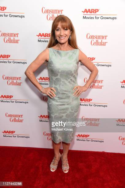 Jane Seymour attends AARP The Magazine's 18th Annual Movies for Grownups Awards at the Beverly Wilshire Four Seasons Hotel on February 04 2019 in...