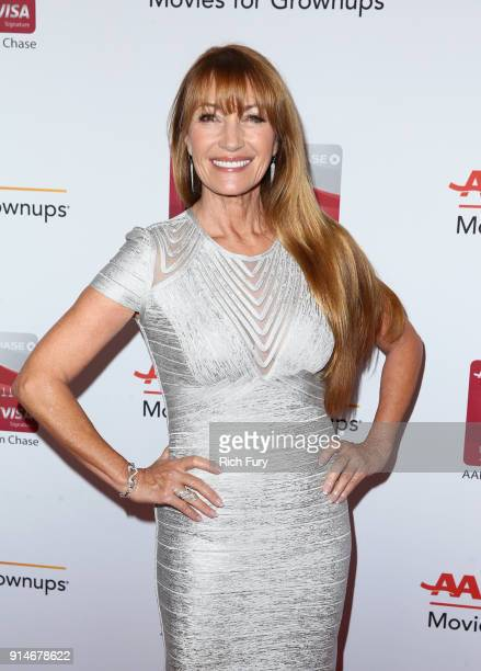 Jane Seymour attends AARP's 17th Annual Movies For Grownups Awards at the Beverly Wilshire Four Seasons Hotel on February 5 2018 in Beverly Hills...
