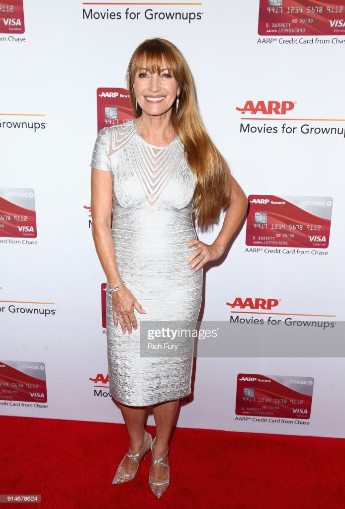 Jane Seymour attends AARP's 17th Annual Movies For Grownups Awards at the Beverly Wilshire Four Seasons Hotel on February 5, 2018 in Beverly Hills, California.