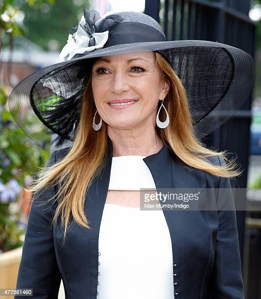 Jane Seymour attends day 1 of Royal Ascot at Ascot Racecourse on June 16 2015 in Ascot England