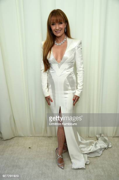 Jane Seymour attends the 26th annual Elton John AIDS Foundation Academy Awards Viewing Party sponsored by Bulgari, celebrating EJAF and the 90th...