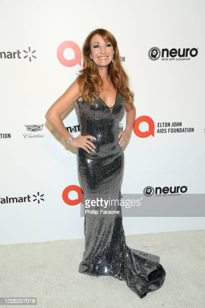 Jane Seymour attends the 28th Annual Elton John AIDS Foundation Academy Awards Viewing Party Sponsored By IMDb, Neuro Drinks And Walmart on February...