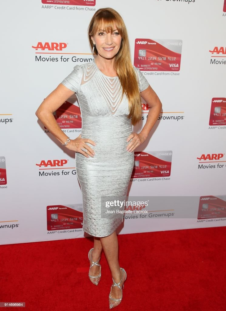Jane Seymour attends the AARP's 17th Annual Movies For Grownups Awards on February 05, 2018 in Beverly Hills, California.