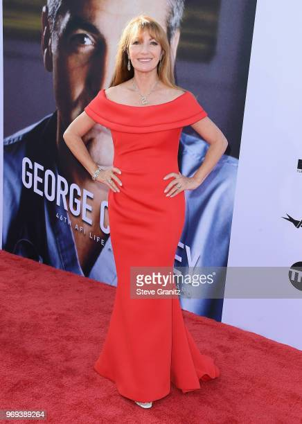 Jane Seymour attends the American Film Institute's 46th Life Achievement Award Gala Tribute to George Clooney at Dolby Theatre on June 7 2018 in...