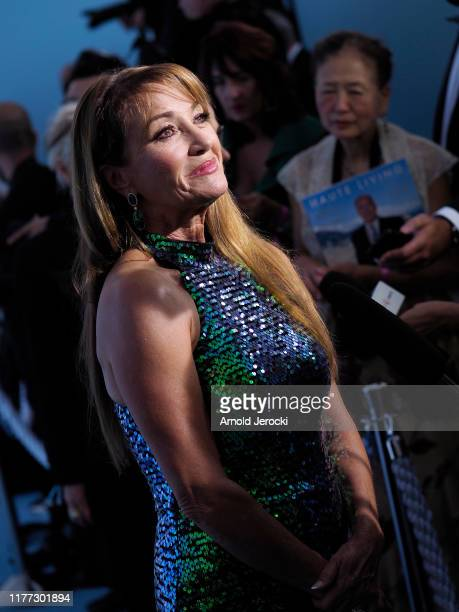 Jane Seymour attends the Gala for the Global Ocean hosted by HSH Prince Albert II of Monaco at Opera of MonteCarlo on September 26 2019 in MonteCarlo...