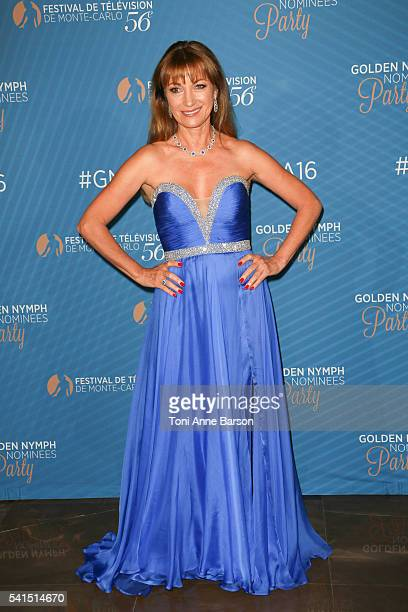 Jane Seymour attends the Golden Nymph Awards Nominee Party as part of the 56th Monte Carlo Tv Festival at the Monte Carlo Bay Hotel on June 15 2016...
