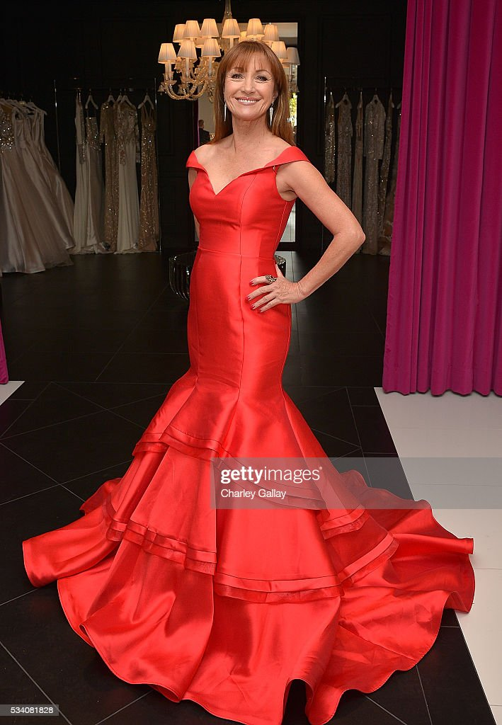 Jane Seymour attends the Jovani L.A. Flagship Opening on May 24, 2016 in Beverly Hills, California.
