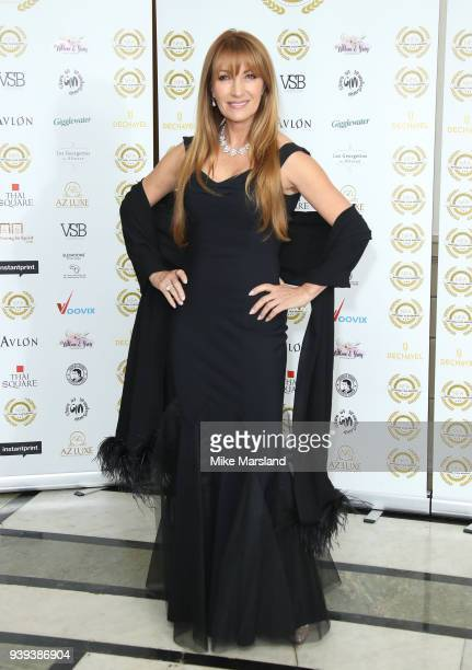 Jane Seymour attends the National Film Awards UK at Portchester House on March 28 2018 in London England