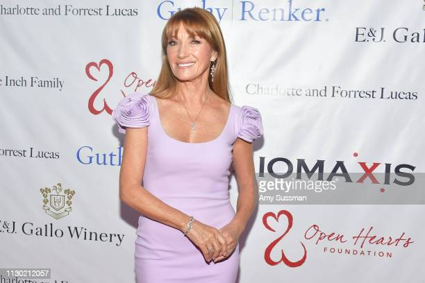 Jane Seymour attends The Open Hearts Foundation's 2019 Open Hearts Gala at SLS Hotel on February 16 2019 in Beverly Hills California