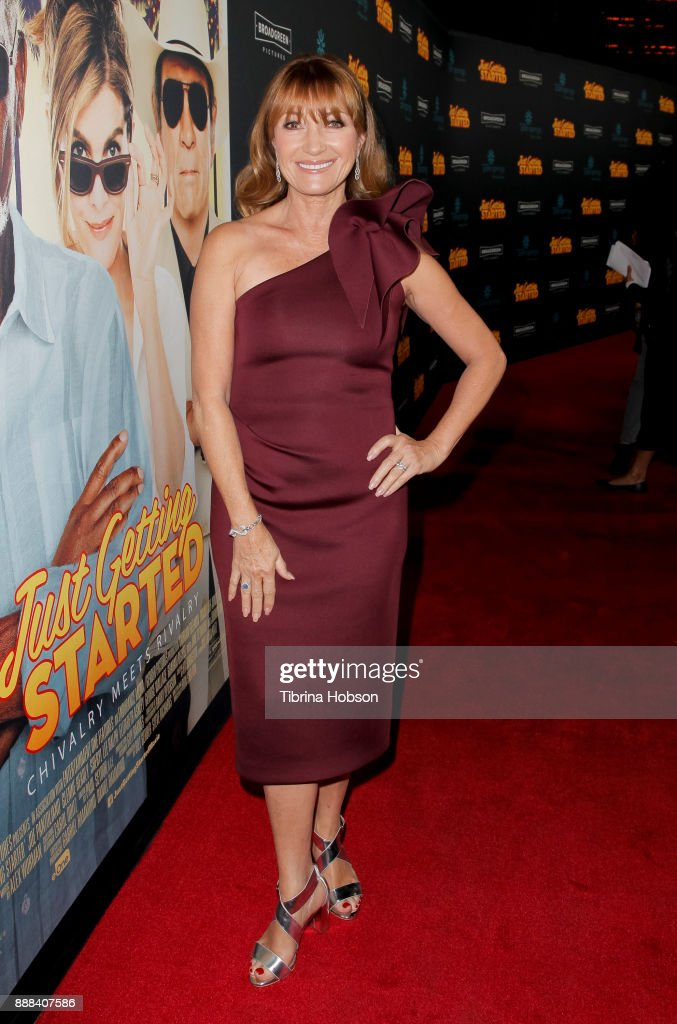 Jane Seymour attends the premiere of 'Just Getting Started' at ArcLight Hollywood on December 7, 2017 in Hollywood, California.