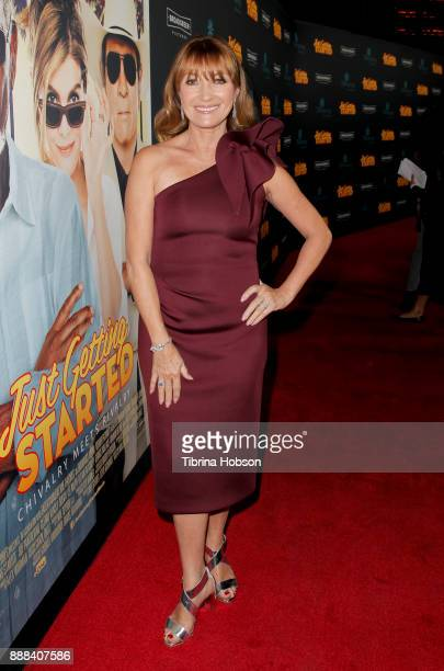 Jane Seymour attends the premiere of 'Just Getting Started' at ArcLight Hollywood on December 7 2017 in Hollywood California