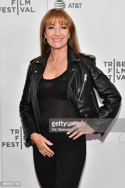 Jane Seymour attends the screeing of Oversharing at Tribeca TV Indie Pilots during the 2018 Tribeca Film Festival at Cinepolis Chelsea on April 23...
