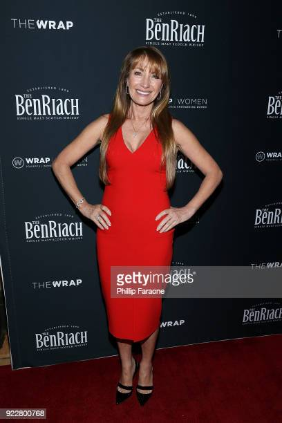 Jane Seymour attends TheWrap's 2018 Women Whiskey and Wisdom Celebrating Women Oscar Nominees at Teddy's at The Hollywood Rooselvelt Hotel on...