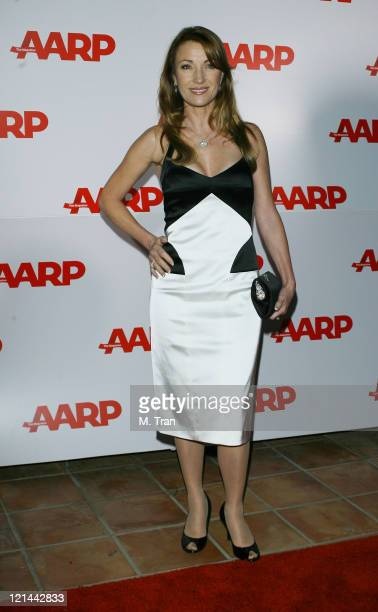 Jane Seymour during AARP The Magazine Toasts 2007 Movies For Grownups Awards Winners at Hotel BelAir in Los Angeles California United States